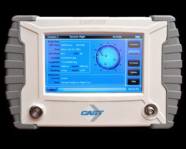 CAST-SGX GPS Satellite Simulator